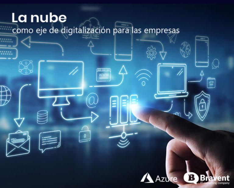 La nube como eje de digitalización y rentabilidad para las empresas.