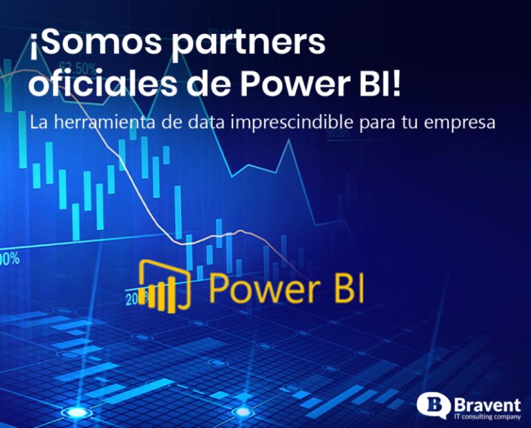 ¡Somos partners oficiales de Power BI!