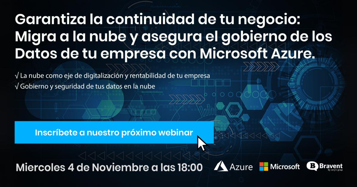 Azure: ¿Por qué debo migrar mi empresa a la Cloud?