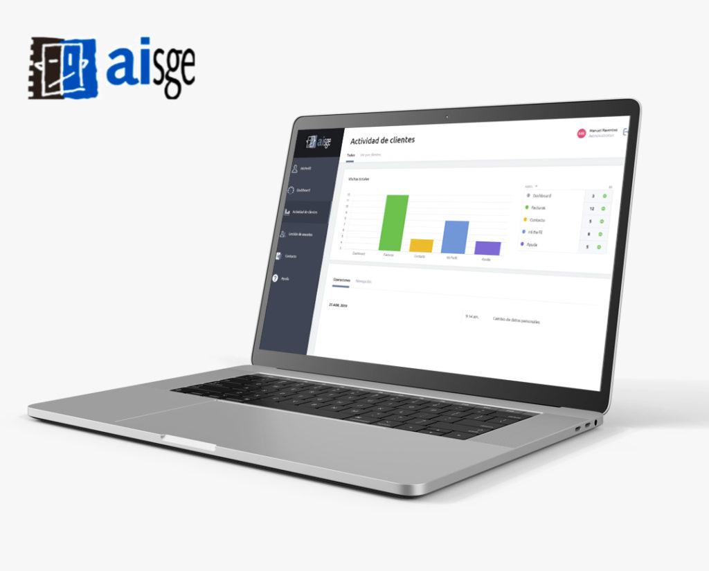 AISGE-Extranet para la gestión de socios