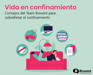 Consejos del team Bravent para sobrellevar el confinamiento