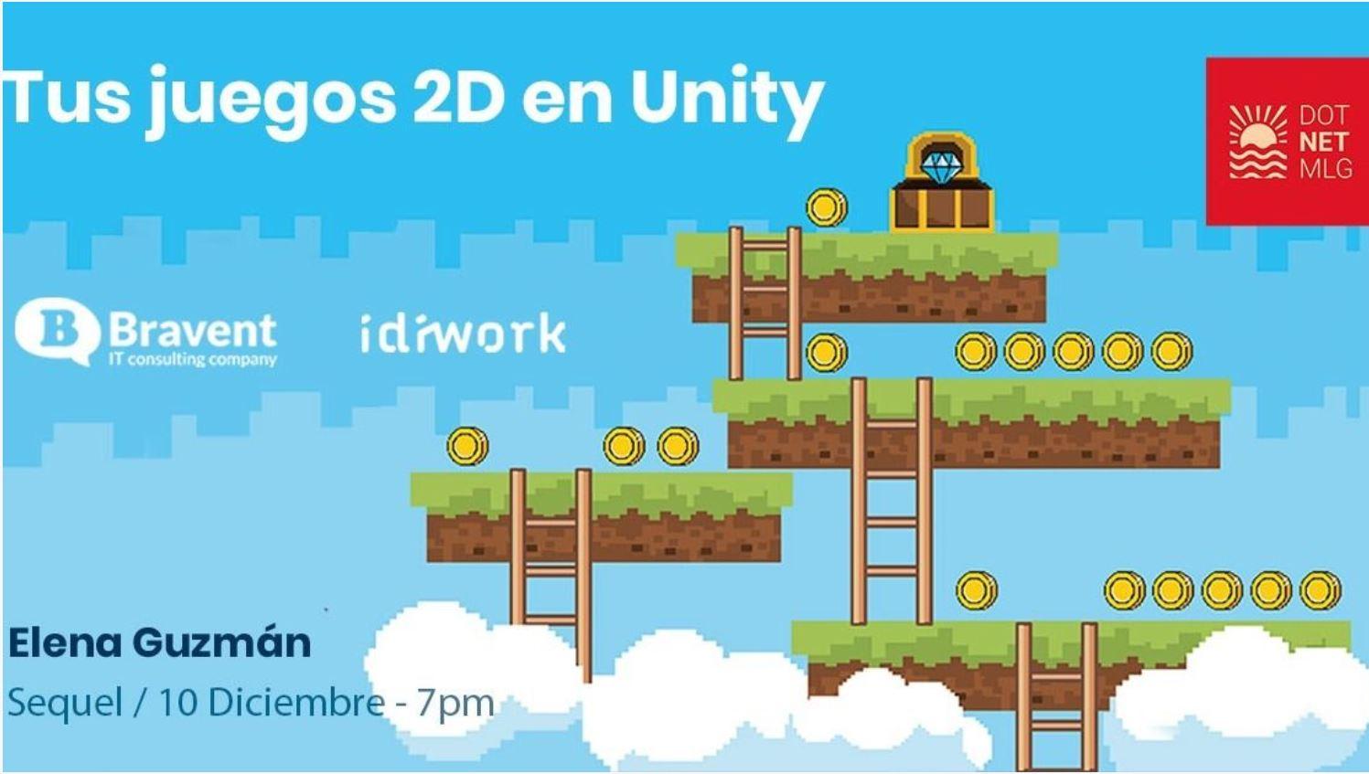 Tus juegos 2D en Unity