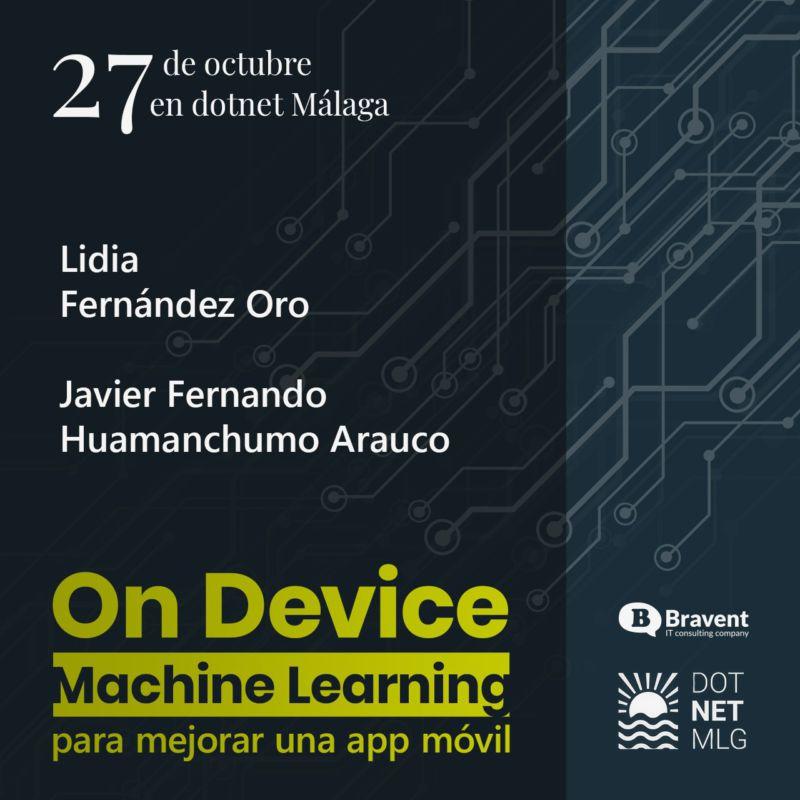 Nuestra charla en DotNet Malaga: On-Device Machine Learning para mejorar una app móvil