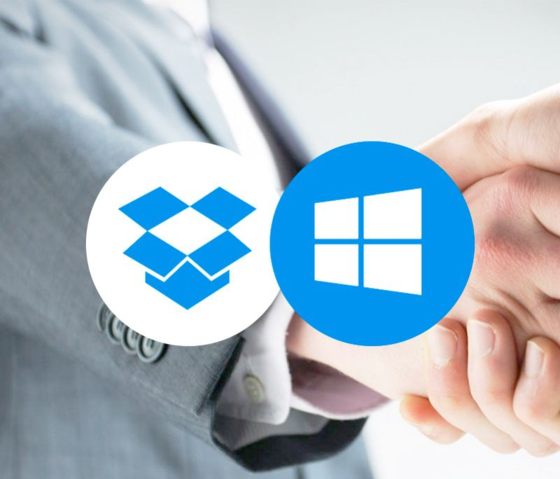 Microsoft y Dropbox, la unión hace la fuerza