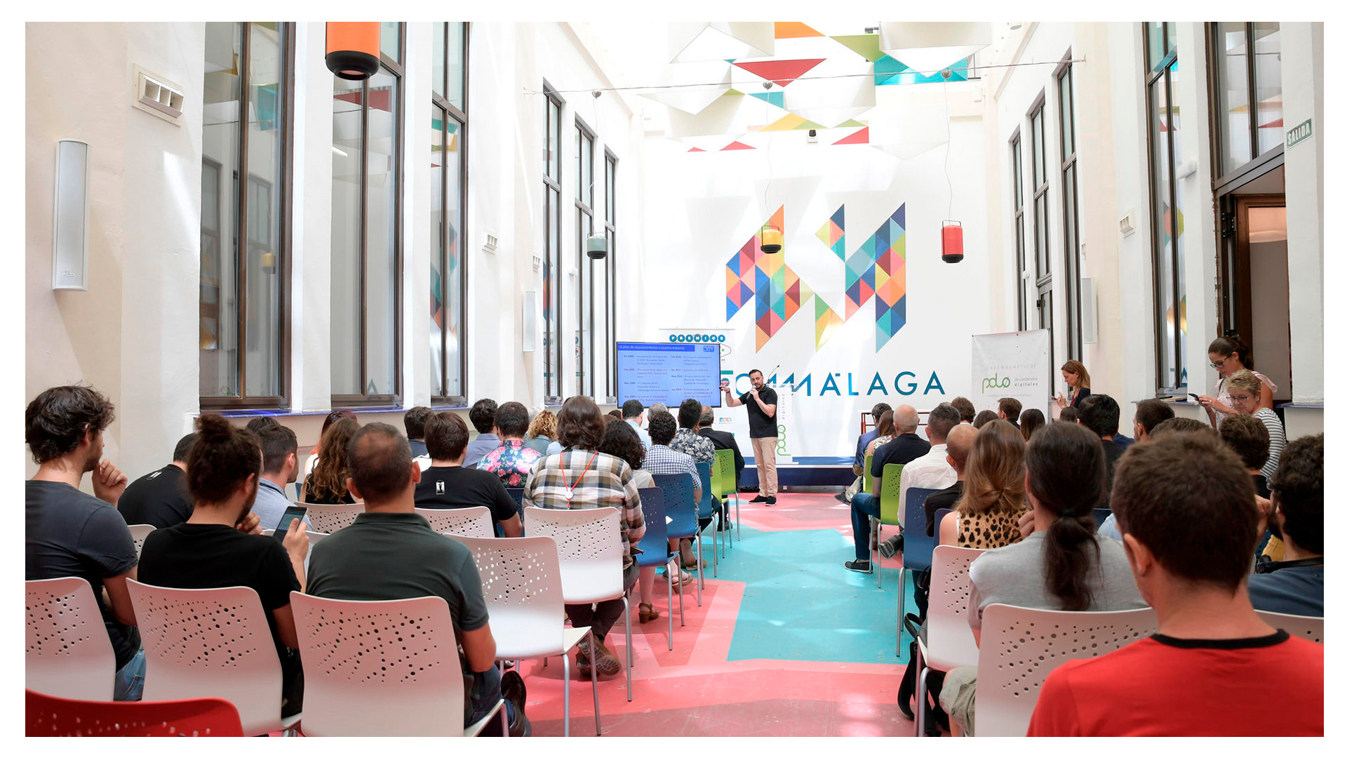Estrenamos oficina en Málaga: Polo de Contenidos Digitales
